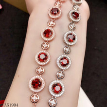 KJJEAXCMY boutique jewelry 925 sterling silver inlaid natural garnet gemstone female bracelet support detection kjjeaxcmy boutique jewelry 925 sterling silver inlaid natural garnet gemstone female ring new support detection