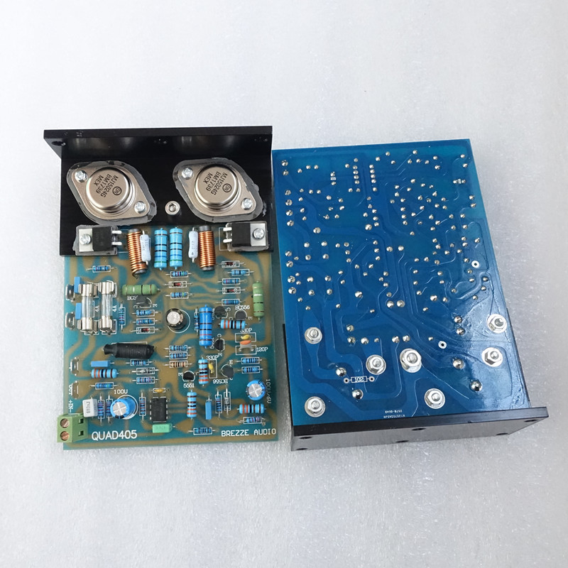 L'amplificateur de puissance classique Quad 405 cloné assemblé et testé - 2