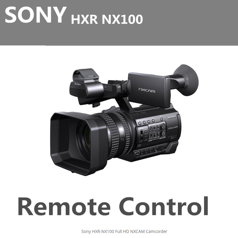 sony HXR NX100 lanc Zoom REMOTE Controller