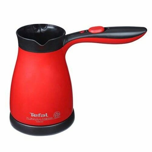 Tefal Turkish Coffee Greek Espresso Maker Electric Pot Briki Red And Black