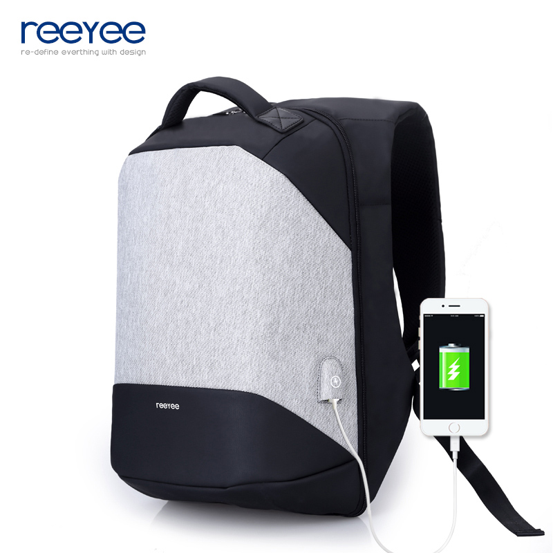Multifunction USB charging Men 15.6inch Laptop Backpacks For Teenager Fashion Male Mochila Leisure Travel backpack anti thief