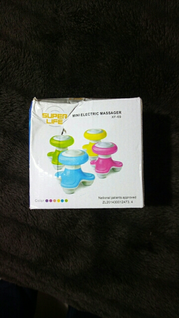 Ergonomic Easy DIY Mini USB Massager with Lovely Triangle Design ( Buy 1 Take 1) photo review