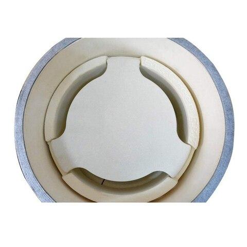 Defletor de Calor do Fumador do Ovo do Bbq Diâmetro de Kamado Acessórios sem Elevador para 21 Cerâmico Polegadas 46 cm 18.11