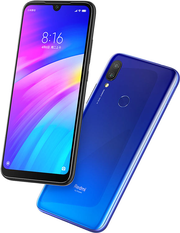 Image 4 - Global Version Xiaomi Redmi 7 32GB ROM 3GB RAM (Brand New and Sealed Box) RED COLOR-in Cellphones from Cellphones & Telecommunications