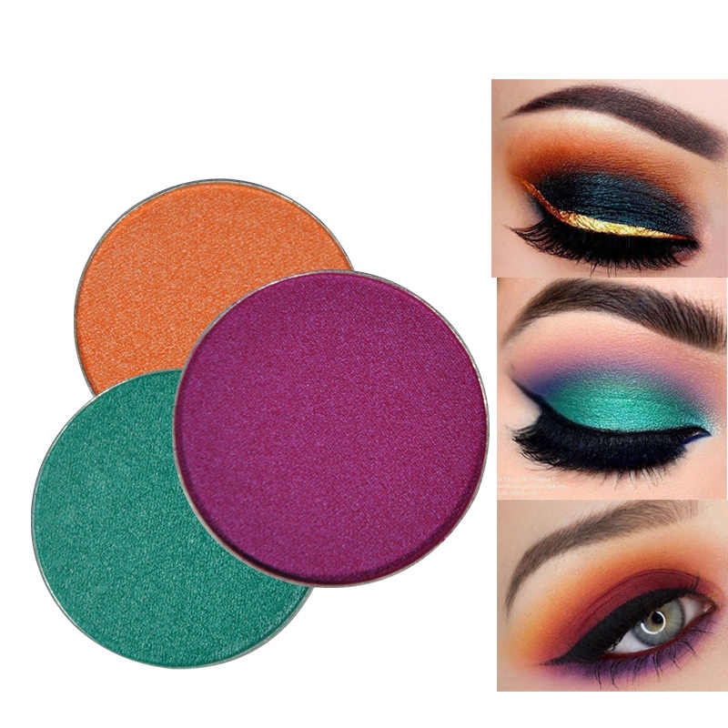 Feel Well DIY shimmer Shadow Palette Makeup Waterproof Eyeshadow Eye Shadow Pigment Loose Make Up Long-lasting eye makeup