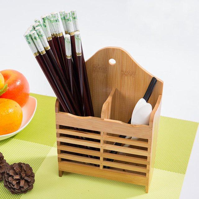 Bamboo dish kitchen sink rack cutlery storage rack drainer drying bamboo dish kitchen sink rack cutlery storage rack drainer drying holder shelf spoon sticks dish sink workwithnaturefo