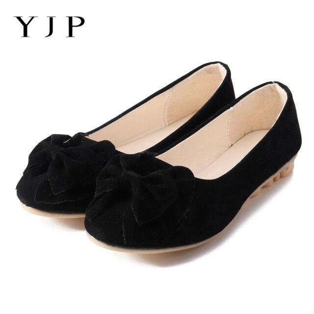 YJP Bowknot Women Boat Shoes b2b2fdb4e4f4