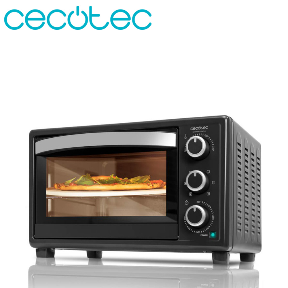 Cecotec Bake&Toast 570 4Pizza Tabletop Electric Oven 26 Liters Capacity Timer To 60 Minutes Temperature Up To 230 Degrees