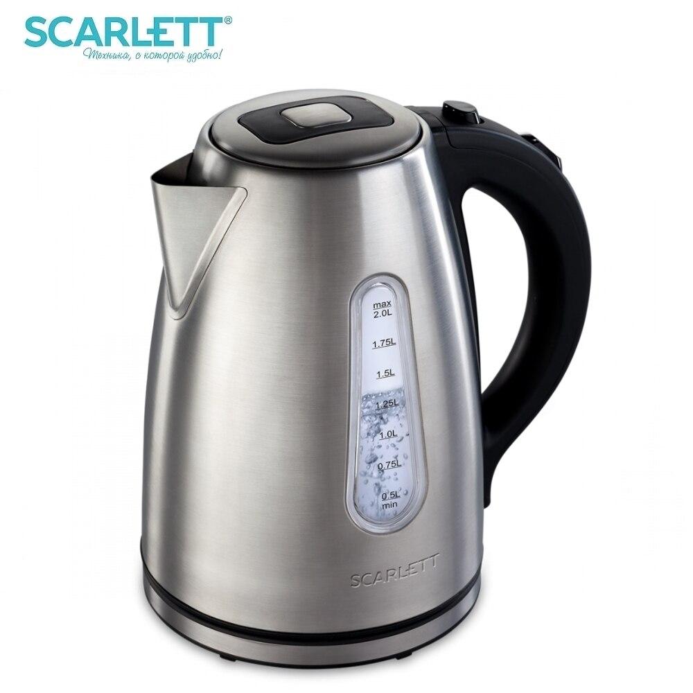 Kettle electric Scarlett SC-EK21S43 Kettle Electric Electric kettles home kitchen appliances kettle make tea Thermo electric kettle philips hd9305 21 metal