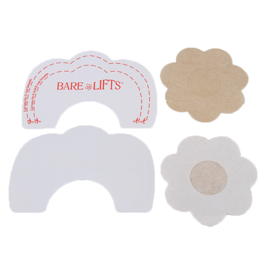 1 Pair Woman disposable Invisible Strapless Backless Bra Pads Breast lifting Intimates Accessories