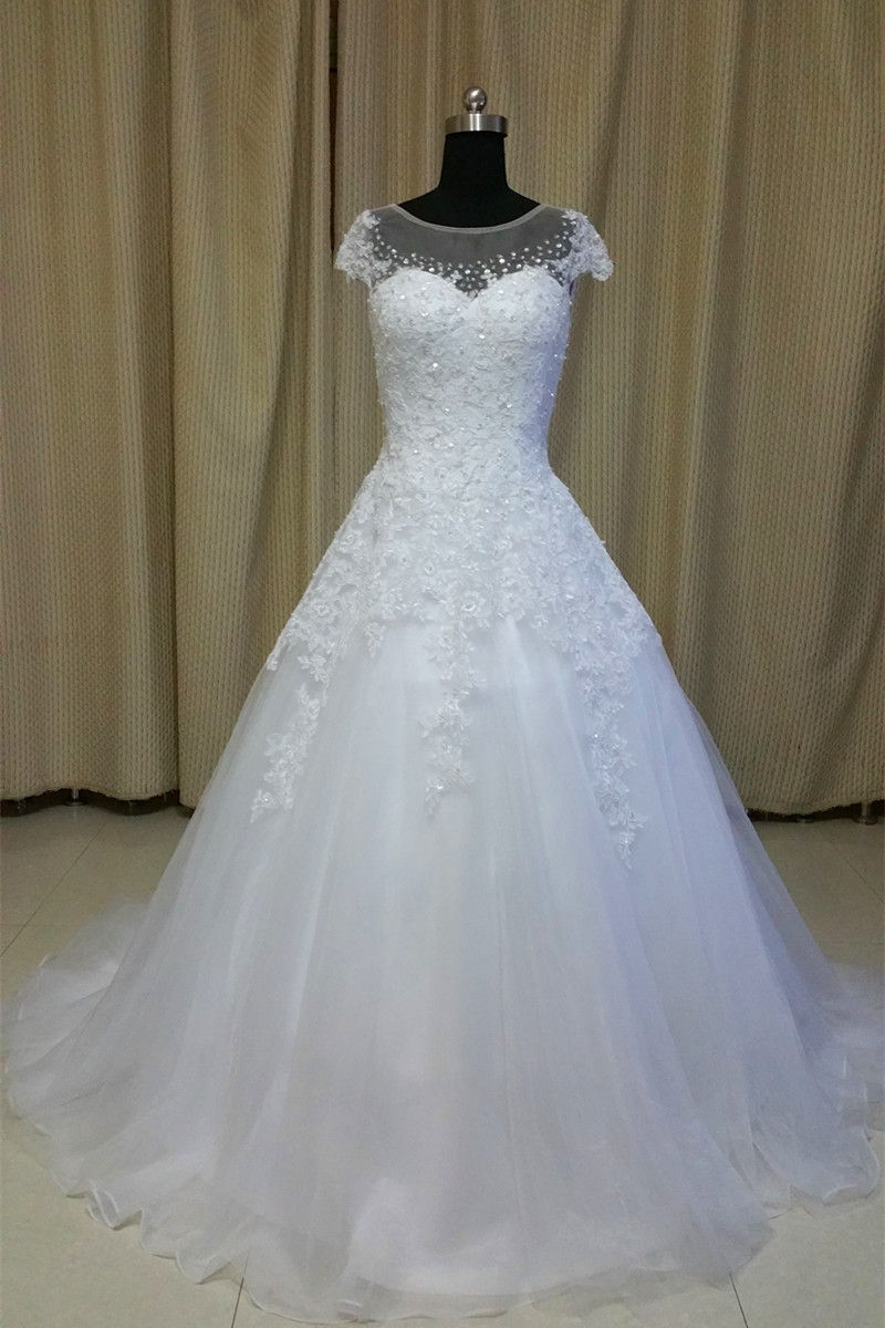 Real Rhinestone Wedding Dress Promotion-Shop for Promotional Real ...