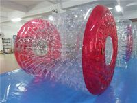 Free Shipping 2 pieces Inflatable Zorb Water Ball Rollers, Water Walking Ball Toys For Sea