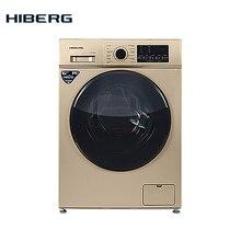 Стиральная машина HIBERG WQ4-610 G, 6 кг загрузки, 1000 оборотов при отжиме, 12 программ стирки, Класс А+, расход воды 48 л. на цикл