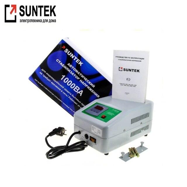 Релейный стабилизатор напряжения SUNTEK 1000 ВА