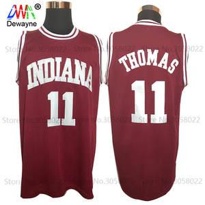 8f4f1942b Dwayne Throwback Basketball Jersey Men 2017 Retro Vintage Shirts Isiah  Thomas  11