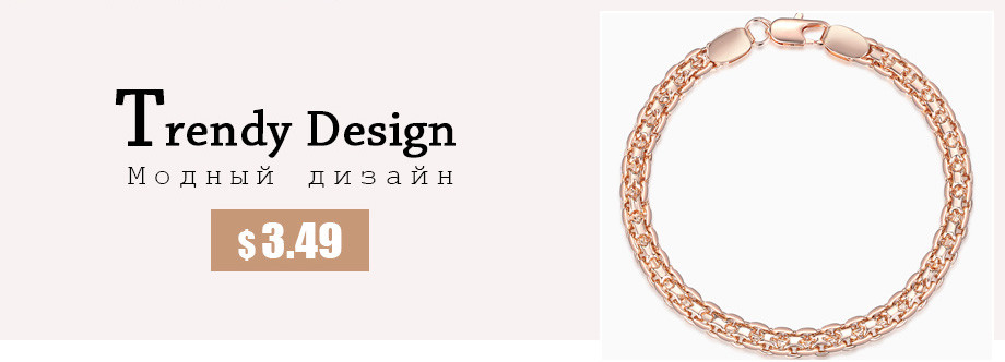 UTB86.vGy4HEXKJk43Jeq6yeeXXarJewelry Set Necklace Bracelet ,585 Rose Gold Filled Weaving Bismark Link 5mm