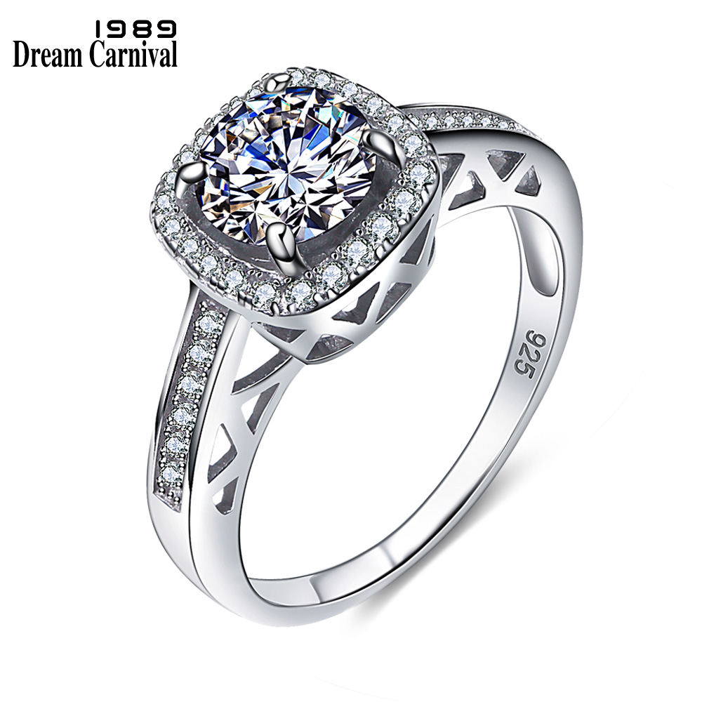 Dreamcarnival 1989 Classic Design Wedding Proposal Ring: DreamCarnival 1989 Timeless Classic Anniversary Lover Gift