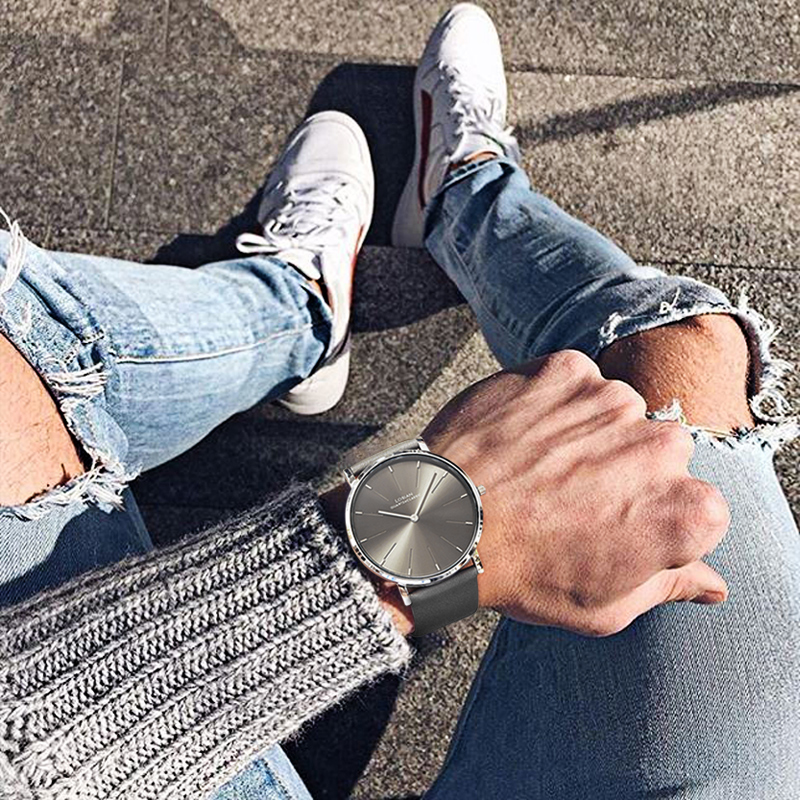 Watch Men Fashion Quartz Clock Mens Watches Stainless Steel Waterproof Top Brand Luxury Relogio Masculino