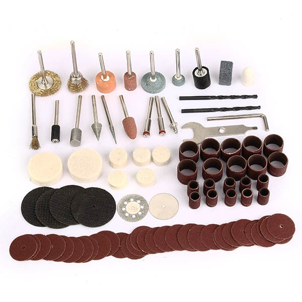 91pcs Electric Polishing Kit Dremel Rotary Tool Accessory Set for Grinding Sanding Polishing High Quality 1pc white or green polishing paste wax polishing compounds for high lustre finishing on steels hard metals durale quality