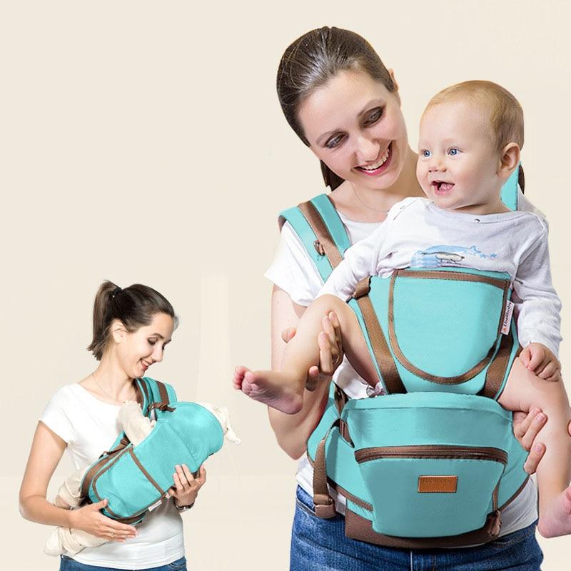 2017 Ergonomic Baby Carrier sling Breathable baby kangaroo hipseat backpacks & carriers Multifunction removeable backpack sling ergo baby carrier performance