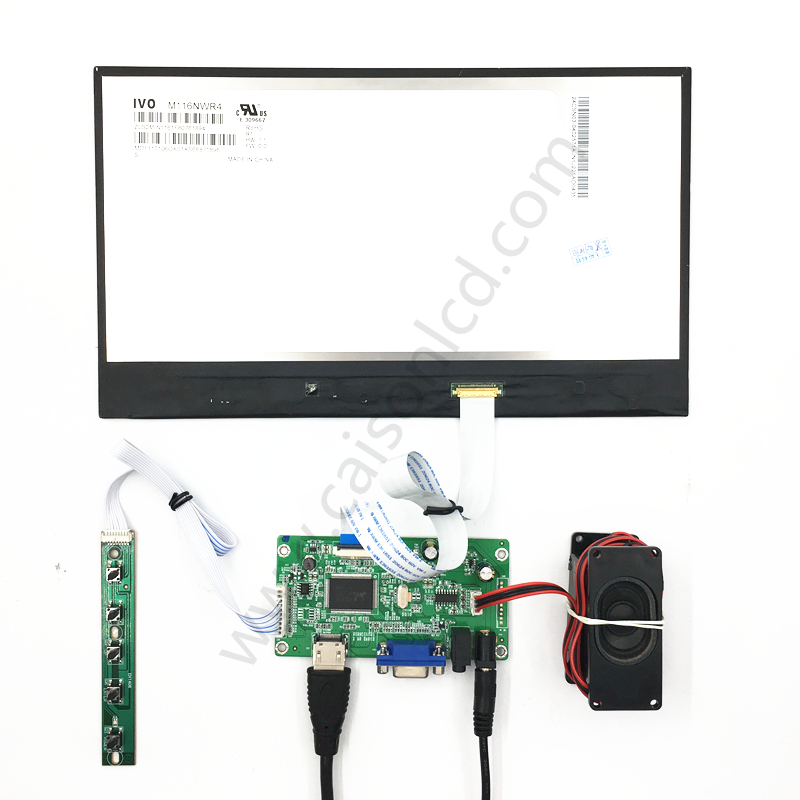 HDMI+EDP LCD controller board support 11.6 inch lcd panel with 1920*1080,350 Typ.DIY 11.6 inch lcd kits vga hdmi lcd edp controller board led diy kit for lp116wh6 spa1 lp116wh6 spa2 11 6 inch edp 30 pins 1lane 1366x768 wled ips tft