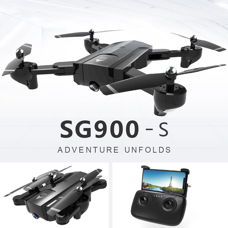RC Drone Foldable Wifi FPV 720P/1080P Wide Angle HD Camera GPS Positioning Follow Me Function Quadcopter Gift 100% original new runcam 2 fpv hd camera av out fpv camera runcam2 1080p 120 angle wifi for walkera qav250 rc racing drone