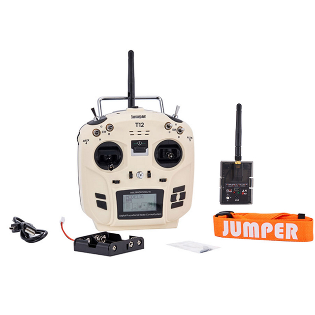 US $84 99 |Jumper T12 OpenTX 16CH Radio Transmitter with JP4 in 1 Multi  protocol RF Module for Frsky JR Flysky-in Parts & Accessories from Toys &