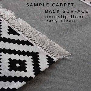Image 2 - Innego marokańskiej w stylu Vintage Retro 3d druku turecki islamska muzułmańskie dywaniki modlitewne Tasseled antypoślizgowe nowoczesne dywanik modlitewny Ramadan Eid prezenty