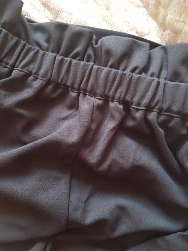 Cortar E Costurar SweatyRocks Babado Calções de Cintura 2018 Verão Cinto de Cintura Alta Bermudas Casuais Mulheres Colorblock Preto Calções Esportivos