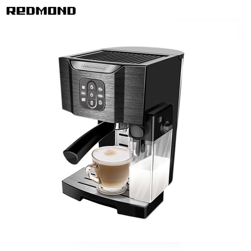 Coffee maker REDMOND RCM-1512 bread maker redmond rbm m1911 free shipping bakery machine full automatic multi function zipper