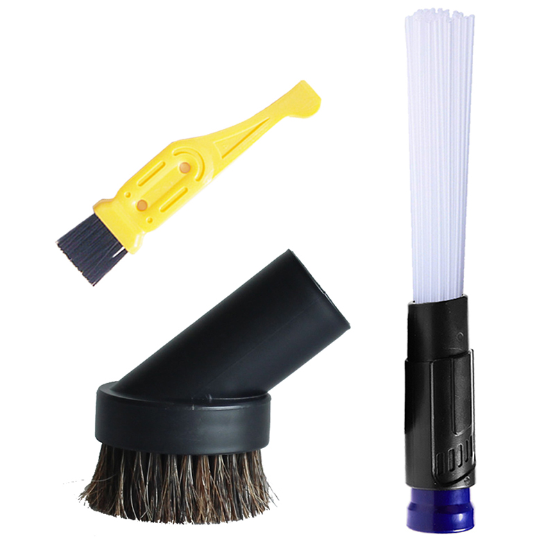 32mm/1-1/4 Round Hair Dust Brush For Universal Vacuum Cleaner Attachment Multi-function Tubes Dirt Remover Crevice Clean Tool print bomber jacket with track pants page 3