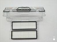 Original Vacuum Cleaner Parts 1pcs Robot Vacuum Cleaner Dust Bin Box 2pcs HEPA Filter For Xiaomi