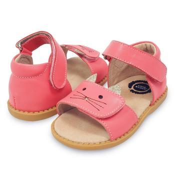 Nouveau mode enfants chaussures enfant en bas âge filles sandales enfants garçons en cuir véritable orteils fermés