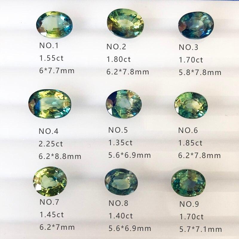 Naturellement unoptimized Chinois de couleur saphir rugueux, soutien vos propres tests, peut vous aider à faire des bijoux