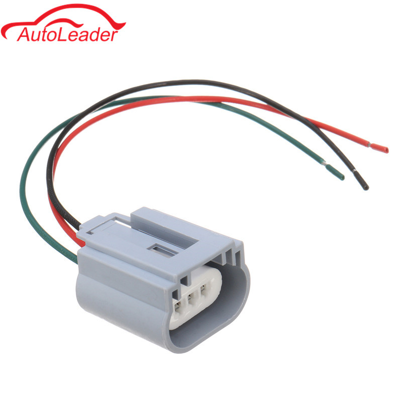 1PCS H13 Headlight Bulb Male Wire Harness Connector Wiring Plug Socket Adapters H13 Bulb Holder 1pcs h13 headlight bulb male wire harness connector wiring plug