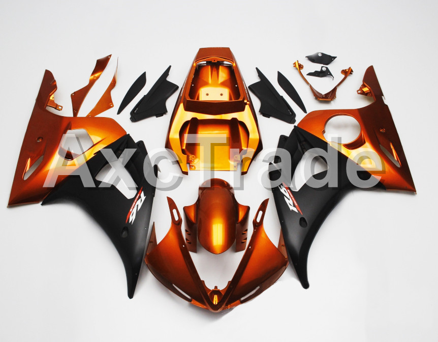 Motorcycle Fairings For Yamaha YZF600 YZF 600 R6 YZF-R6 2003 2004 2005 03 04 05 ABS Injection Molding Fairing Bodywork Kit B407 motorcycle part front rear brake disc rotor for yamaha yzf r6 2003 2004 2005 yzfr6 03 04 05 black color