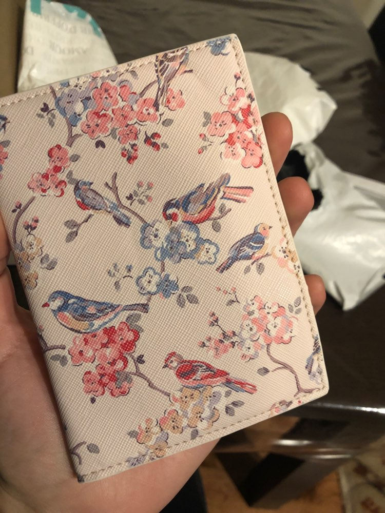 2019 Fashion Floral Print PU Leather Passport Holde,Passport Cover for Travel Card Holder Bag, 22 Style for choose,size 14*10cm photo review