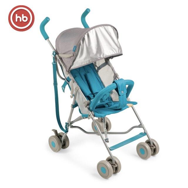 Детская коляска-трость Happy Baby TWIGGY. Супер лёгкая, портативная, яркая и удобная.