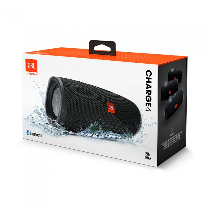 JBL Charge 4 Portable Bluetooth sans fil haut-parleur IPX7 étanche Sport Portable musique Hifi son basse JBL basse radiateur haut-parleur
