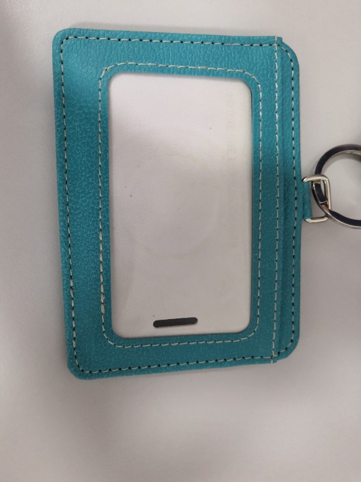 2019 New fashion ID Holders Bank Credit Card Holder Unisex PU Leather card case business Working Id Badge covers without lanyard photo review