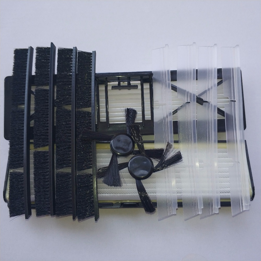 12pcs neato Replacement part 8* Connected Combo Brush +2* Side brush +2* filter for Neato Botvac 70 D75 D80 D85