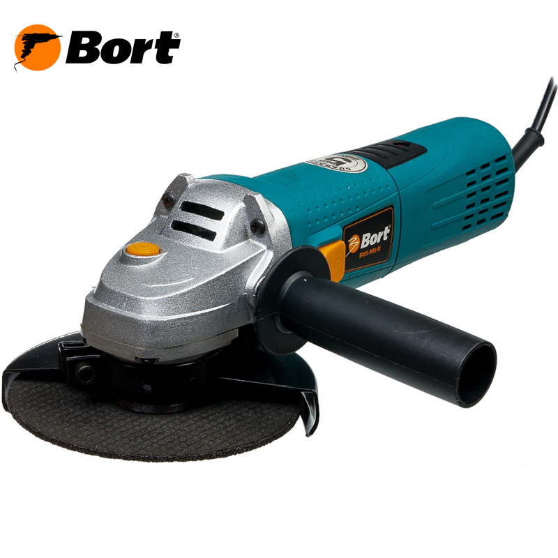 BORT Angle Grinder bulgarian USHM Grinding machine Electric grinder Angle Grinder grinding Power or cutting metal portable Woods Steel Power Tool Warranty BWS-905-R air compressor die grinder grinding polish stone kit air angle die grinder kit pneumatic tools
