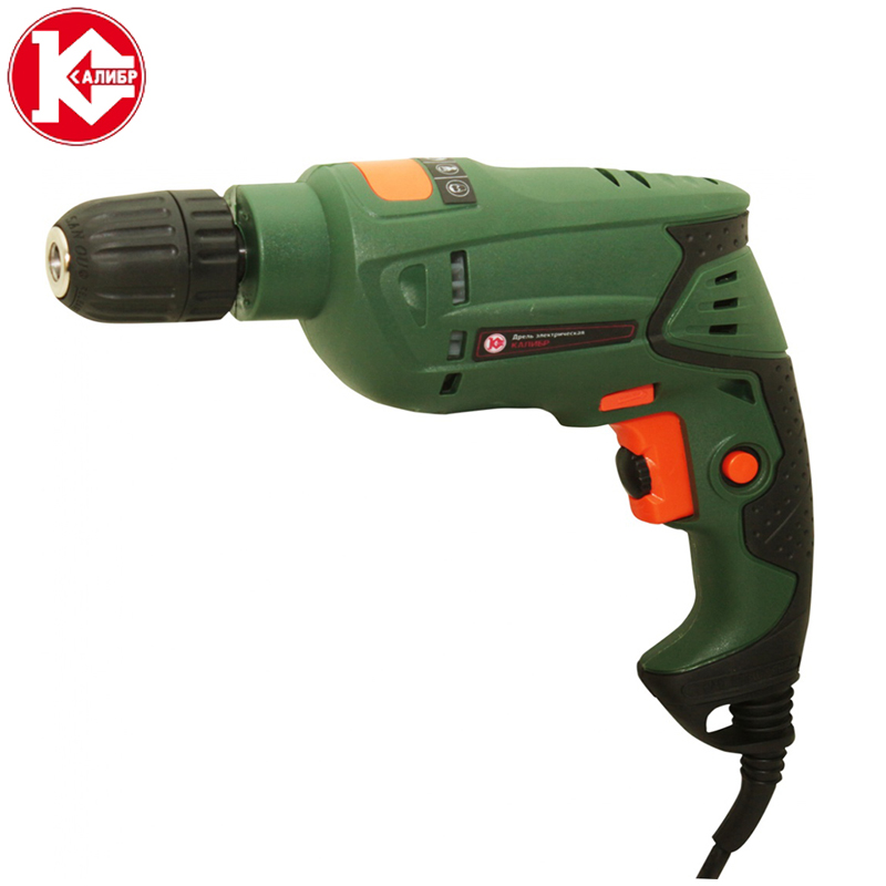 Kalibr DE-430ER+ Electric Drill  Multi-function Adjustable Speed Woodworking Power Tool kalibr de 810eru drill household impact drill 220v multi function power tool pistol drill hand drill electric light light