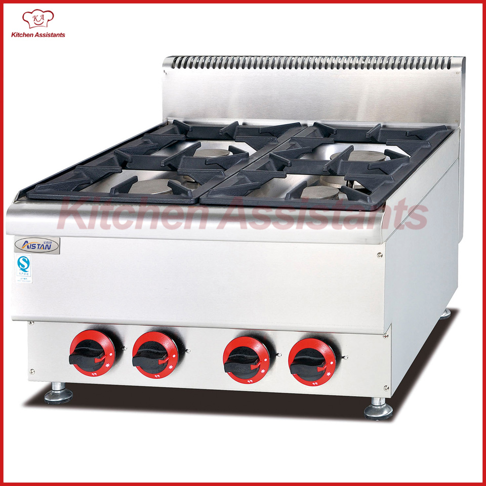 GH567 Gas Stove with 4 burners of catering equipment gh787a gas range with 4 burner with gas oven of catering equipment