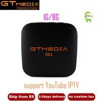 GTMEDIA G1 S905W Android 7.1.2 TV Box Media Player 1GB RAM 8GB ROM Set Top TV Box 4K HD 2.4G Wifi Smart TV Box IPTV Hot sale