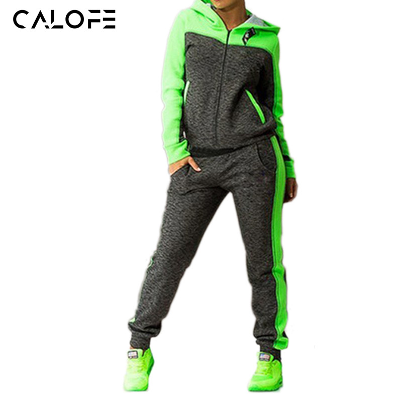 women's sports suits two piece tracksuit women sportswear