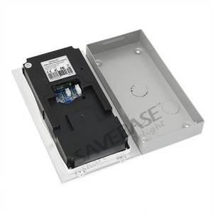 """Image 3 - HOMSECUR 7"""" Video Door Entry Phone Call System with Intra monitor Audio Intercom"""