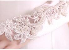 5 шт./лот, детские длинные белые студенческие перчатки с цветочным узором для девочек, унисекс, для танцев, выступлений, гимнастики, бесплатная доставка, оптовая продажа