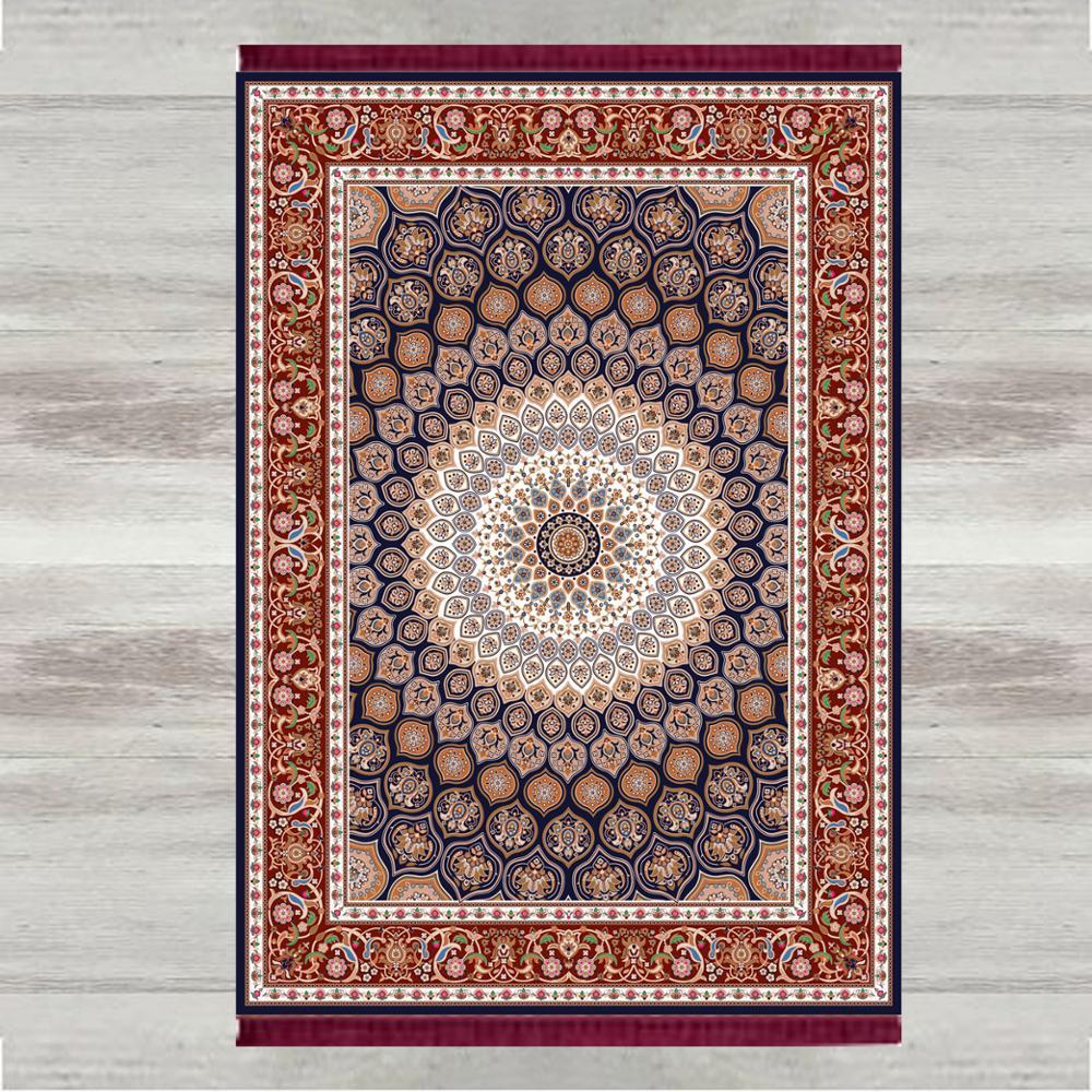 Autre Morrocan authentique rétro 3d impression turc islamique musulman tapis de prière tassed Anti Slip moderne tapis de prière Ramadan Eid cadeaux
