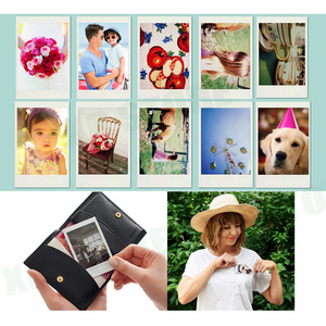 Image 5 - Fujifilm instax Mini 9 Camera Purple/Pink/Yellow with 50 sheets instax mini film photos /13 in 1 kit Accessories Case Bag